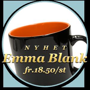 Nyhet! Emma Blank, pris från 18.50/st